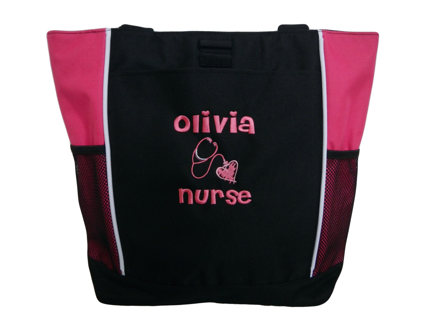 tote bag personalized student rn bsn cna manager