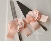 Wedding Cake Cutting and Serving Set