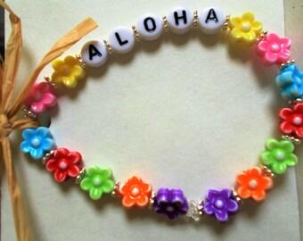 Hawaiian Aloha Bracelets/Anklets