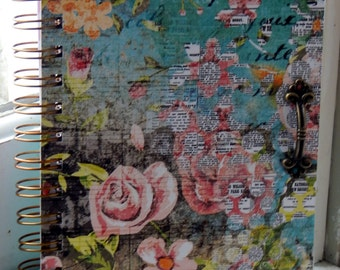 5 x 7 Floral Lined Journal