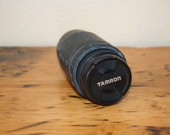 Vintage TAMRON AF 70-300mm Macro Zoom Camera Lens Vintage 35mm Camera Lens Vintage Millenia 58mm UV Photo Filter from The Eclectic Interior