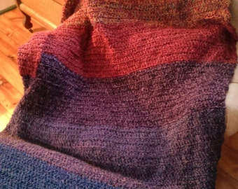 Color and Stripe Blanket