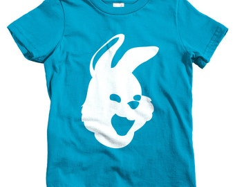 Kids Bunny Mask T-shirt - Baby, Toddler, and Youth Sizes - Rabbit Tee, Funny, Cute, Gift - 4 Colors
