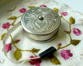 Seamstress Retractable Measuring Tape W Germany Vintage Sewing Notion Dressmaker