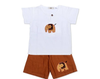 Extra Small Size Children Outfit Shirt And Pants (AP7996-C24XS)