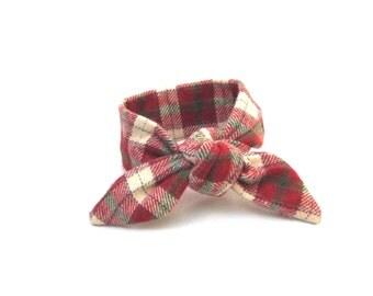 Red Bun Band, Tween Bun Tie, Child's Bun Crown, Bun Wrap, Bun Wire Wrap, Wired Hair Accessory, Pony Tail Wrap, Gift Idea, Ready to Ship