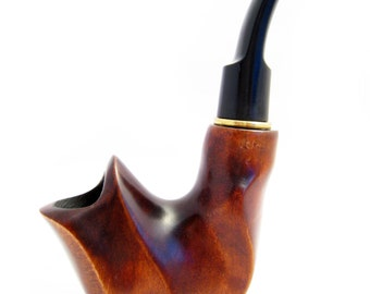 "New Tobacco pipe, Wooden Pipe/Pipes 6.1'' ""DALI"" mini, Carving Handmade - Smoking Pipe.....Limited Edition......"