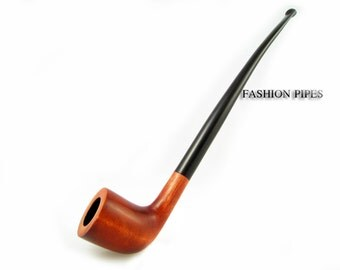 "New Fashion Churchwarden Tobacco Pipe 9.8'' ""LORD"" Long Pipe Smoking Pipe of Pear Wood. Designed for pipe smokers"
