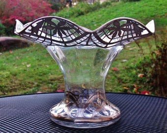Sterling Silver Reticulated Centerpiece Bowl, Flower vase,  punch bowl, fruit bowl by Black, Starr & Frost...