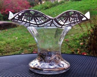 Wedding Gift! Black, Starr & Frost Sterling Silver Reticulated Centerpiece Bowl, Flower vase,  punch bowl, fruit bowl.....