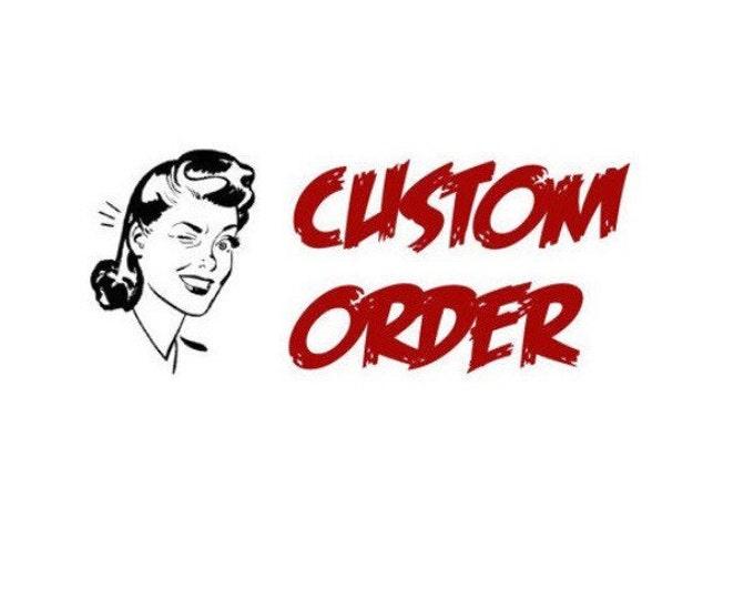 CUSTOM ORDER (Michelle - Part 1) Handmade Sugar Skul Pinup Purse with red sparkle vinyl