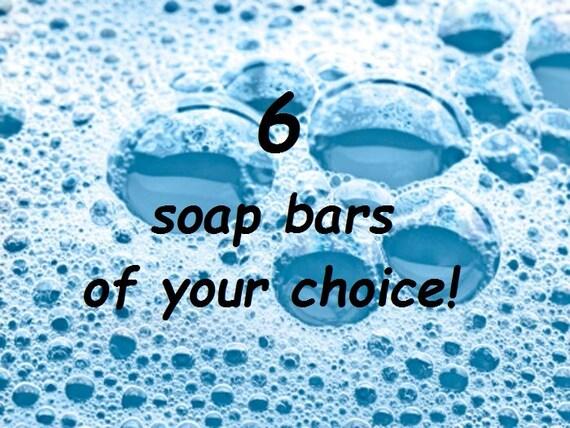 6 Soaps of your Choice - Icelandic Luxury Vegan Soap