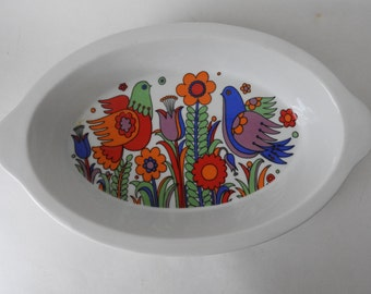Royal Crown Paradise Casserole Dish- Oven Bakeware