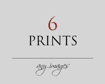 Fine Art Photography, Custom Print Set, Set of 6 Prints, Choose Your Own Set, Forest, Nature, 8x8, 5x7, Boho Wall Art, Travel, Art Gift Set