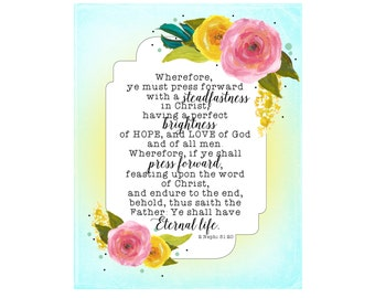 2016 LDS Young Women Mutual Theme Mormon Youth Latter-day Saints Removable Textured Wall Vinyl