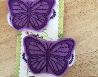 Girl's Butterfly Clippie Set