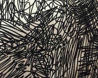 Alexander Henry - Bow Wow Wow - Scritch Scratch - Tea/Black
