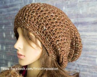Slouchy hat ready to ship