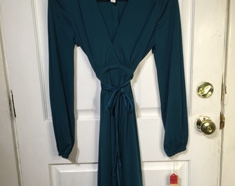 Vintage green dress new with tags