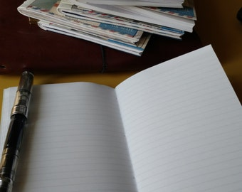 Lined Tomoe River Paper Inserts for the Traveler's Notebook