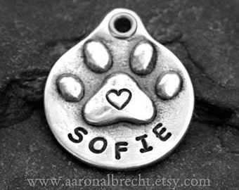 Pets Gifts Personalized Dog Tag - Pet Tag - Dog ID Tag - Pet Accessories - Handmade