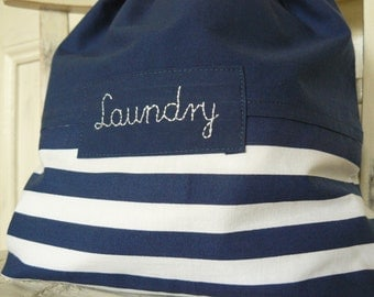 Travel laundry bag, laundry pouch, laundry bag, personalized gift, 40 cm x 32 cm