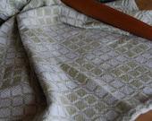 Tea Towel Handwoven - Willow Classic Swedish Blocks Cotton