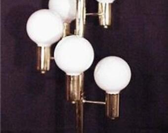Mid Century Modern sPaCE aGE MoD Planetary Orbit Satellite Moon Globes Lamp- Eames/Panton