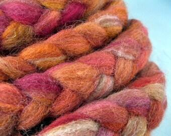 SANDSTONE - Handpainted Finnish Wool Roving, 3 oz.