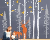 CUSTOM ORDER: Add 4 Birch, 4 Fir Trees a Birdhouse and a Butterfly to 021