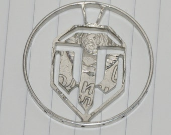 World of tanks. Coin cut charm by invicia.