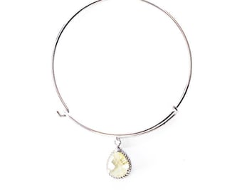 Harper Collection Bangle Bracelet in Lemon Yellow