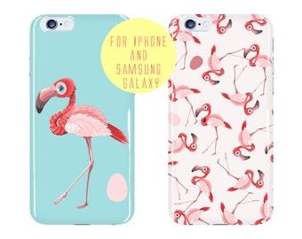 Pink Flamingos Phone Case Color Options iphone 6 Plus Case Birds iphone 6s Case Custom Samsung Galaxy s6 Case Protective Galaxy s7 Edge Case