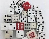 25 Dice Dice Lot vintage dice new dice