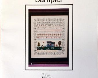"Cross Stitch Pattern, ""The Greenwood Sampler"""
