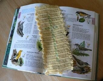 Bookmark,Cross Bookmark,Crochet Bookmark,Cross Ribbon Bookmark