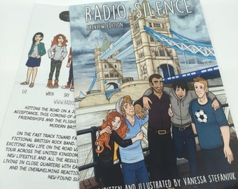 Radio Silence Fall 2016 Comic Graphic Novel