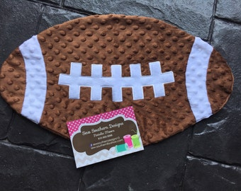 Football or Baseball Personalized Baby Lovie/Lovey