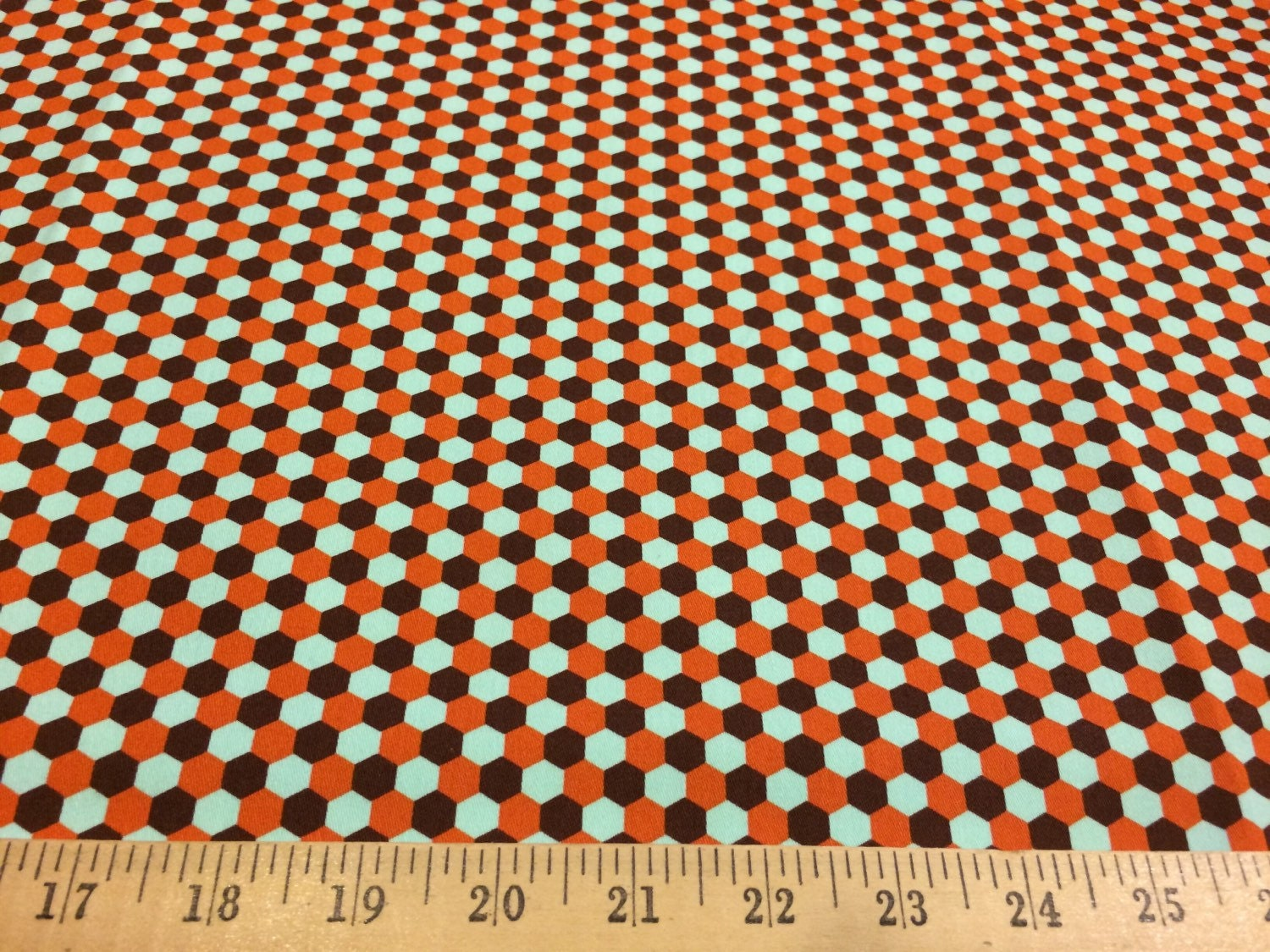 Joel dewberry geo in chocolate hdjd07 100 cotton sateen for Decor 55 fabric