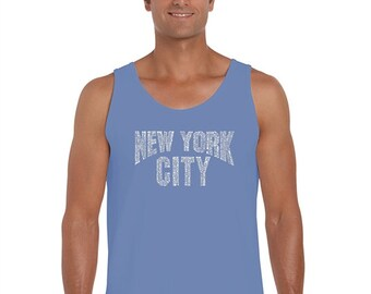 Men's Tank Top - NYC NEIGHBORHOODS