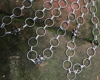 Skull & Crossbones Chain Necklace