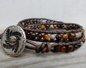 Custom Woodland Bracelet/Necklace Set