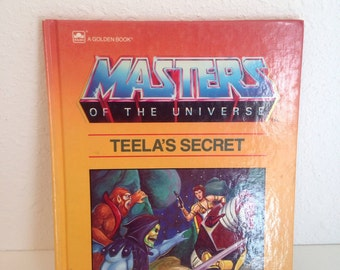 Vintage Book, He Man, Masters of the Universe, Vintage Kids Book, Vintage Cartoon Comic Book