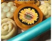 Grip FLOWer - Scented Glitter Grip Wax for Hula Hoops - ORGANIC local beeswax - lavender, lemongrass, honey,  patchouli, cedar fairy dust