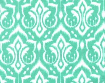 Ikat Damask (Mint) - Emma's Garden - Patty Sloniger - Michael Miller Fabrics - 1 Yard