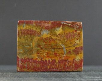 Beautiful natural jasper cabochon,semiprecious stone, Natural, Jewelry making supplies S7137