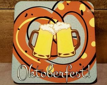 Party Coasters Set Drink Coasters Oktoberfest Decorations