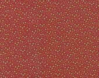 1/2 Yard - Petite Prints -  Noisette Rouge by French General for Moda Fabrics