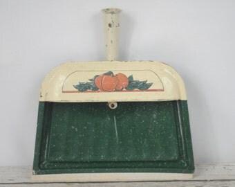 Vintage Metal Dust Pan Crumb Catcher Silent Butler Crumb Collector Dust Pan #3