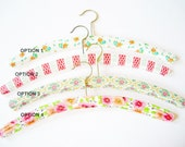 1 Piece Vintage Retro Clothes Hanger with Plasticcover from the 70ies - PICK ONE STYLE